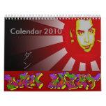 Calendario 2010 de Dan Bizet