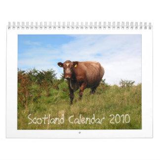 Calendario 2010 de Escocia