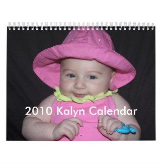 Calendario 2010 de Kalyn