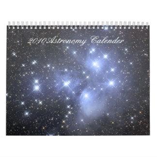 Calendario 2010 de la astronomía