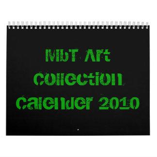 Calendario 2010 de la colección de arte de MBT