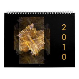 Calendario 2010 de la colección del fractal