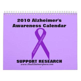 Calendario 2010 de la conciencia de Alzheimer…