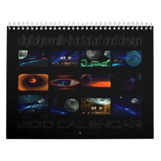 calendario 2010 de la foto-manipulación del