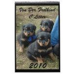Calendario 2010 de la litera de C