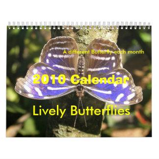 Calendario 2010 de la mariposa