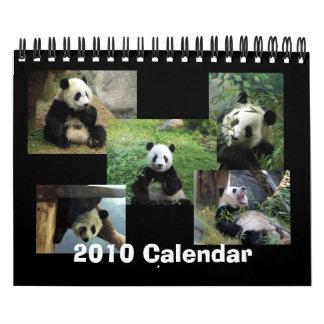 Calendario 2010 de la panda
