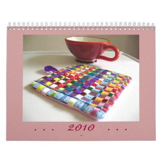 Calendario 2010 de las creaciones y de las fotos I