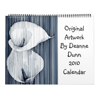 Calendario 2010 de las ilustraciones de Deanne Dun