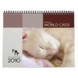 Calendario 2010 de los gatos del mundo