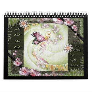 Calendario 2010 de Magick del Faery