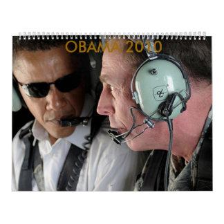 Calendario 2010 de Obama
