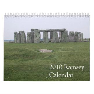 Calendario 2010 de Ramsey