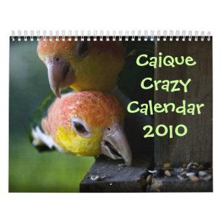 Calendario 2010 del caique
