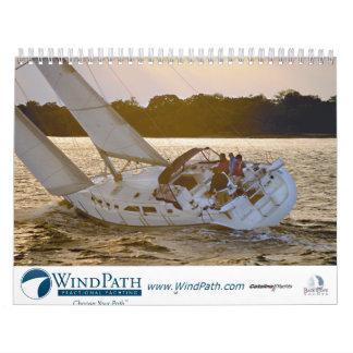 Calendario 2010 del club del barco de WindPath