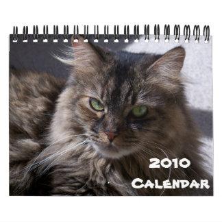 Calendario 2010 del Coon de Maine