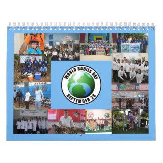 Calendario 2010 del día de la rabia del mundo