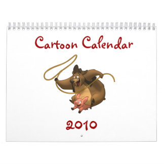 Calendario 2010 del dibujo animado