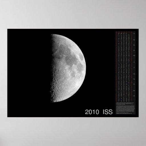Calendario 2010 del ISS Póster