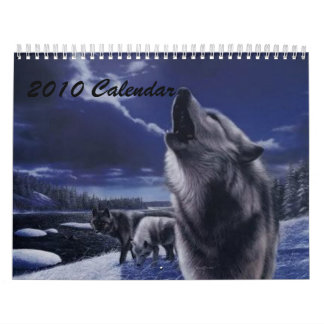 Calendario 2010 del lobo