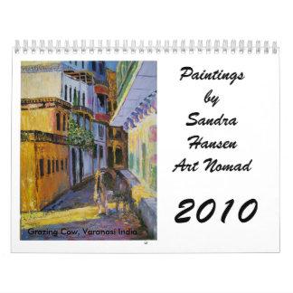 Calendario 2010 del paisaje de Sandra Hansen
