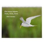 Calendario 2010 del pájaro