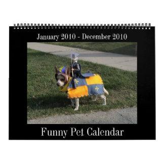 Calendario 2010 del perrito de la diversión