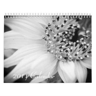 Calendario 2011 - blanco y negro