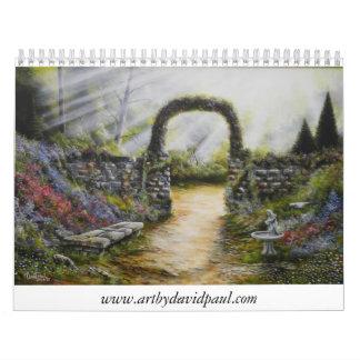 Calendario 2011 con arte de David Paul