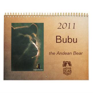 Calendario 2011 de Bubu