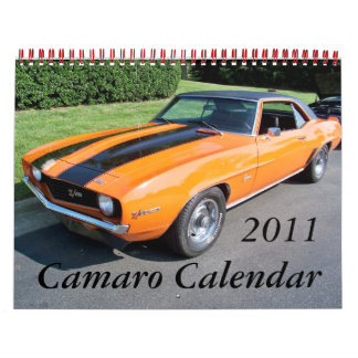 Calendario 2011 de Camaro