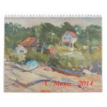 Calendario 2011 de Carleen Muniz