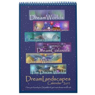 Calendario 2011 de DreamLandscapes