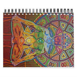 calendario 2011 de escritorio de la yoga del karmy