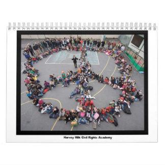 Calendario 2011 de la academia de las derechas civ