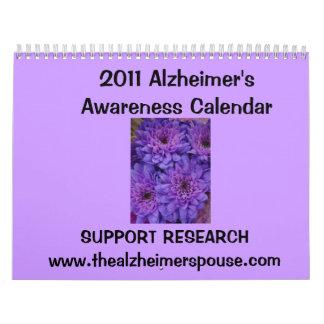 Calendario 2011 de la conciencia de Alzheimer…