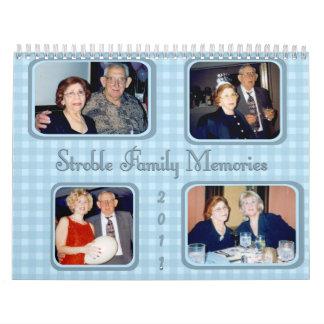 Calendario 2011 de la familia por la petición
