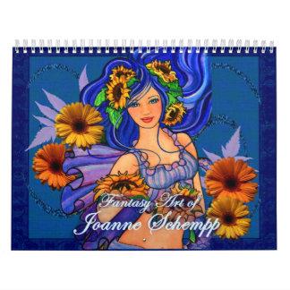 Calendario 2011 de la fantasía de Juana Schempp
