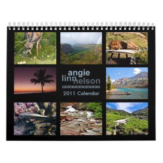 Calendario 2011 de la fotografía