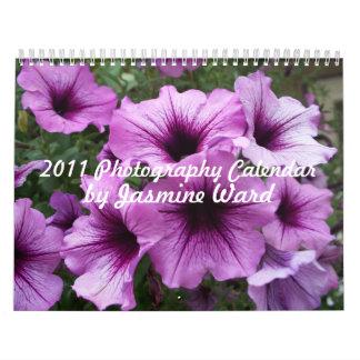 Calendario 2011 de la fotografía por la sala del