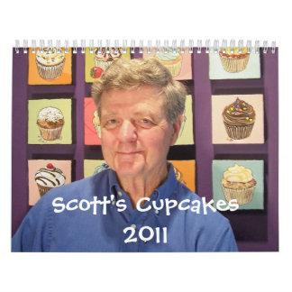 Calendario 2011 de la magdalena de Scott
