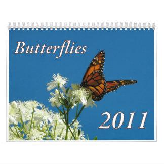 Calendario 2011 de la mariposa