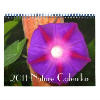 Calendario 2011 de la naturaleza