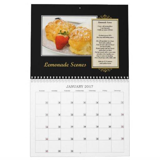 Calendario 2011 de la receta