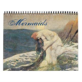 Calendario 2011 de la sirena