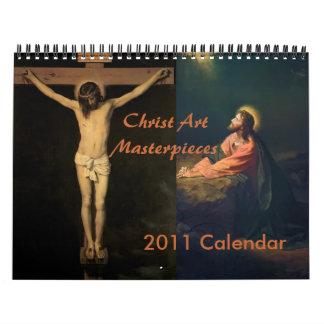 Calendario 2011 de las obras maestras del arte de