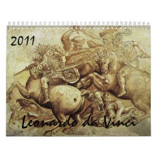 Calendario 2011 de Leonardo da Vinci