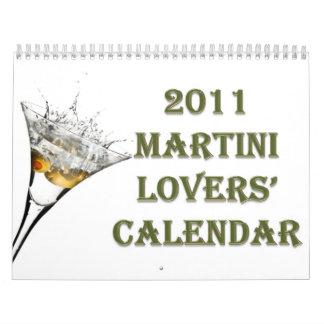 Calendario 2011 de los amantes de Martini