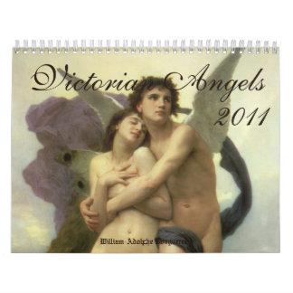 Calendario 2011 de los ángeles del Victorian