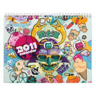 Calendario 2011 de los caramelos de Tokio